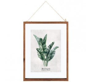 Fantastic all glass picture frame