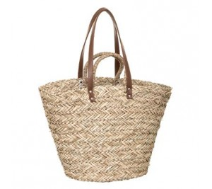 Fantastic handmade French wicker market basket